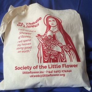 St Therese Tote Bag