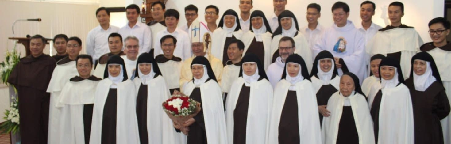 Four Vietnamese Nuns return home for their Solemn Profession and to begin a new Foundation