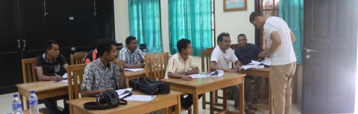 Carmelite Students in East Timor learning photography
